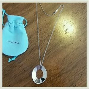 Tiffany & Co Frank Gehry Oval Necklace